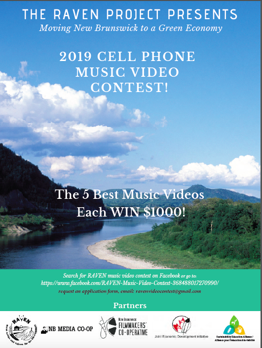 Announcing RAVEN cell phone music video contest winners @ Online Webinar