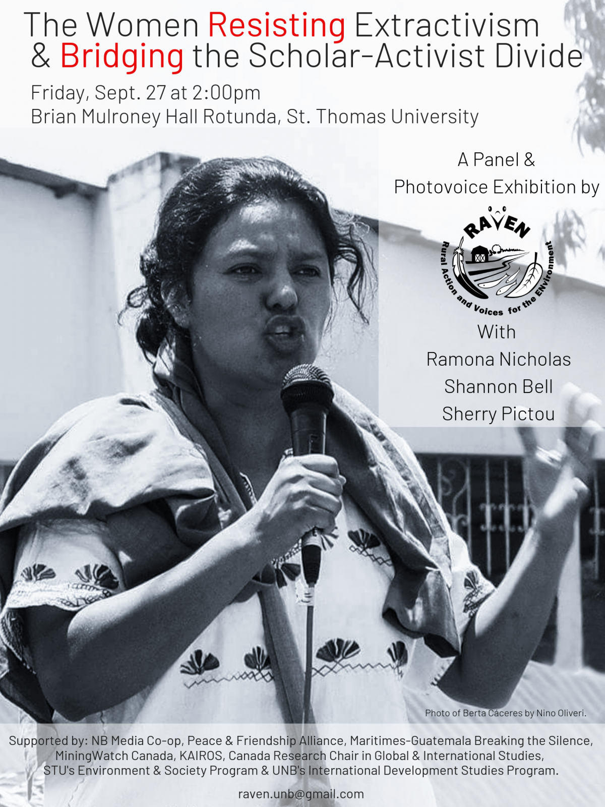 Sept 27: Women resisting extractivism