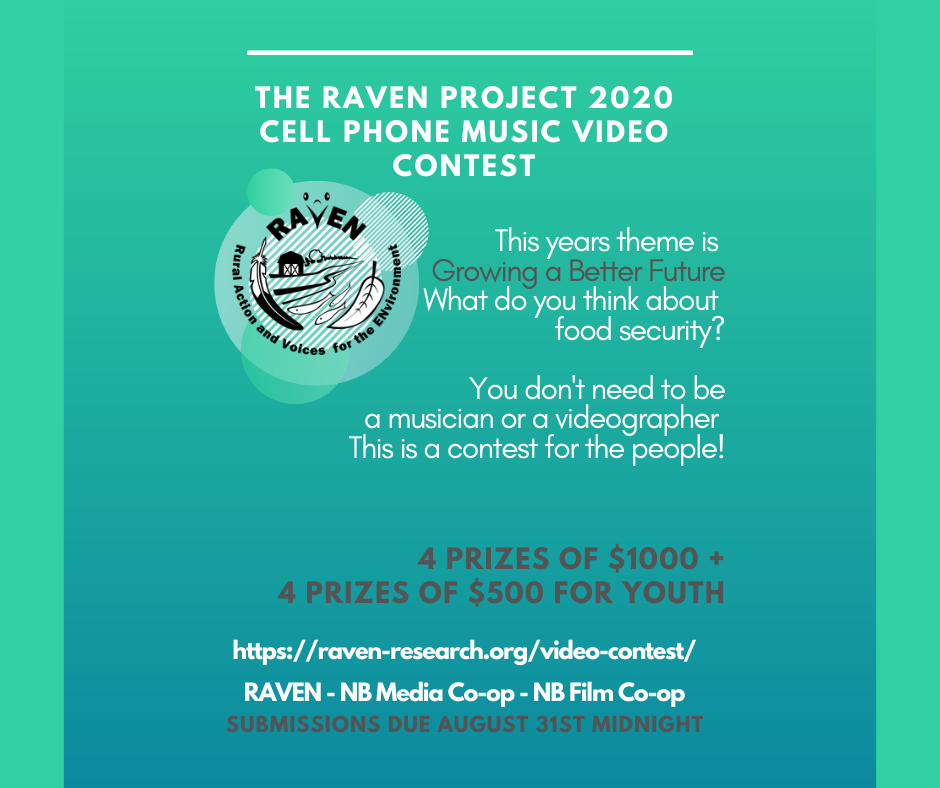 RAVEN's 2020 Cell Phone Music Video Contest